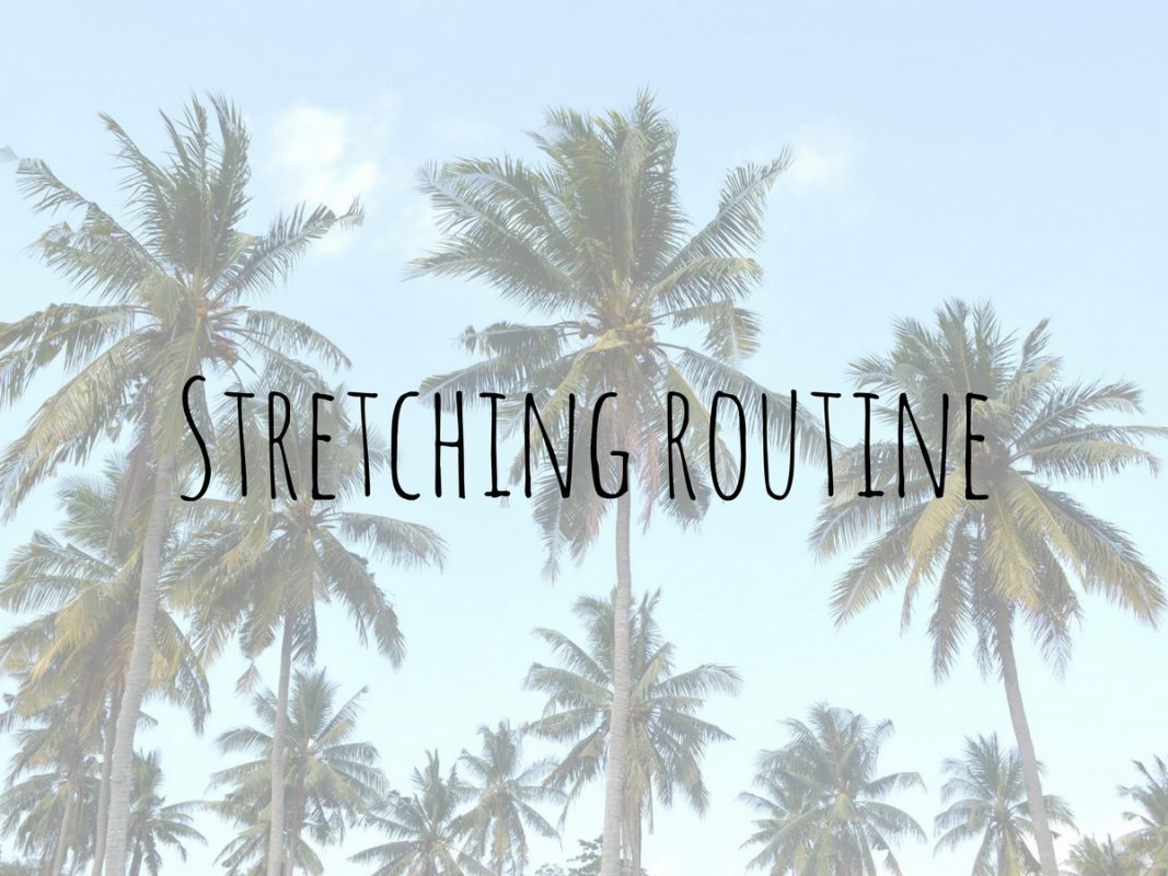 15 minute stretching routine